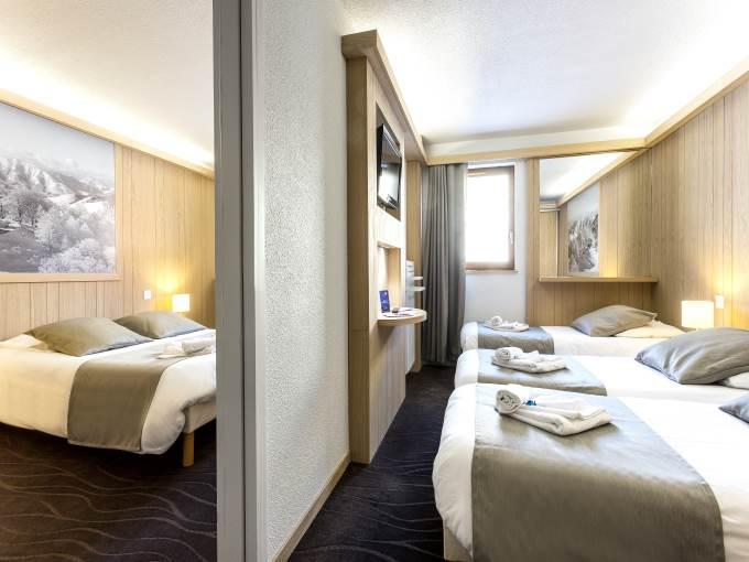 Image France Alpe Huez les Bergers hotel chambre
