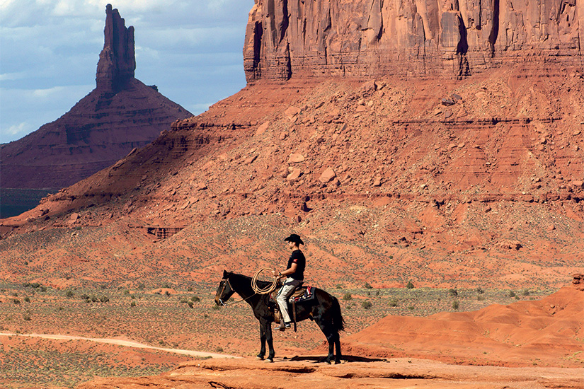 image 1 Monument valley Cowboy sur John Ford Point 07 as_79751820
