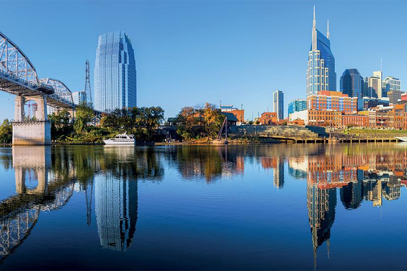 image 1 Nashville d horizon se refletant dans la riviere Cumberland 38 it 171578500