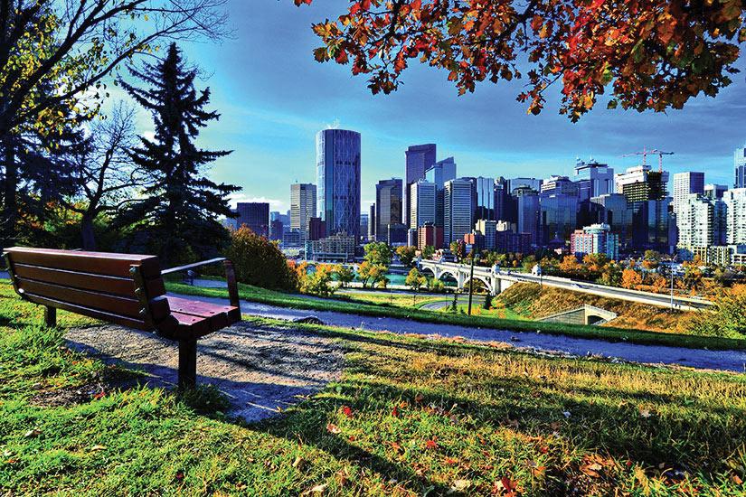 image Canada Calgary Parc Panorama  fo