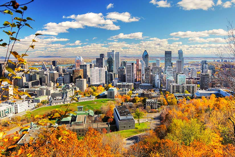 image Canada Montreal Automne  it