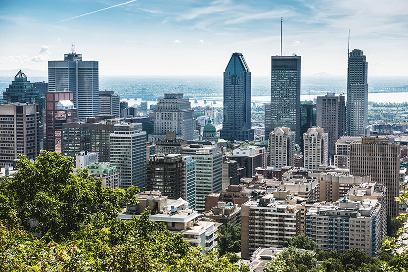 image Canada Montreal panorama  it