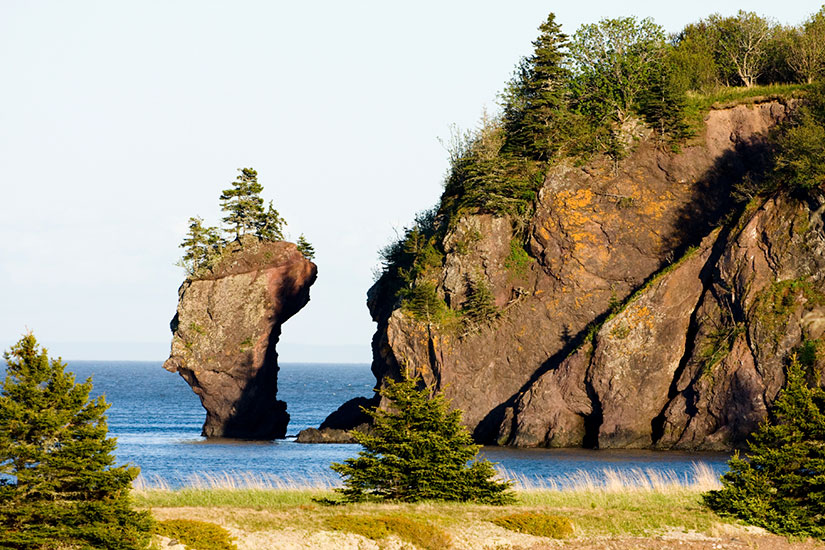 image Canada Nouveau Brunswick Enclume Rock  it