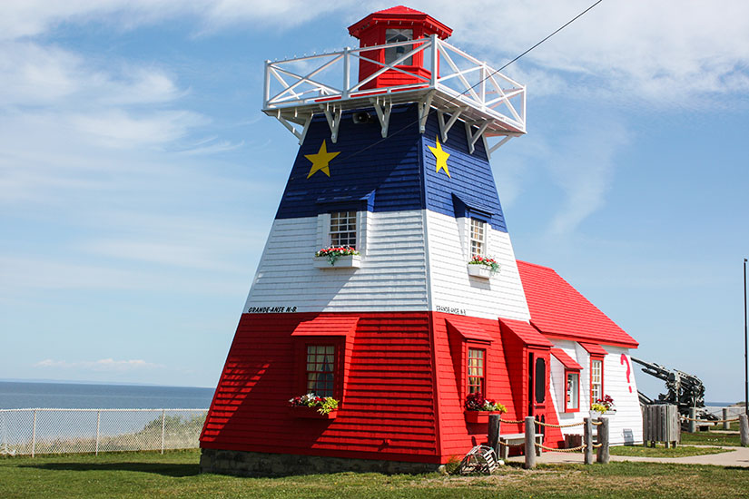 image Canada Nouveau Brunswick Grand Anse phare  it