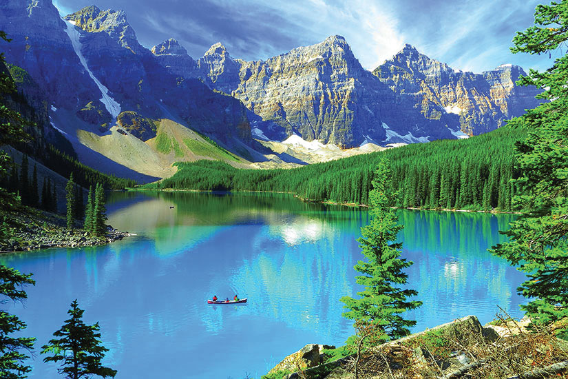 image Canada Parc National Banff Moraine Lac  fo