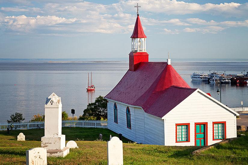 image Canada Quebec Tadoussac Chapelle  fo