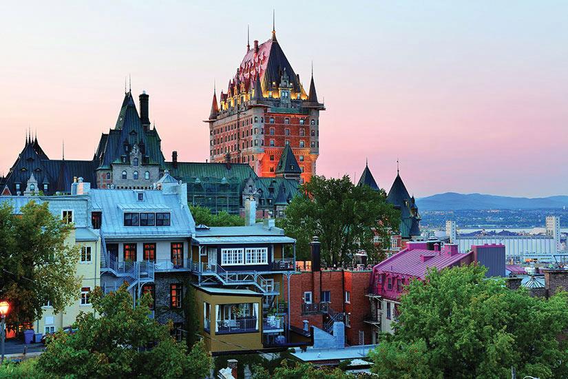 image Canada Quebec Ville Maisons  fo