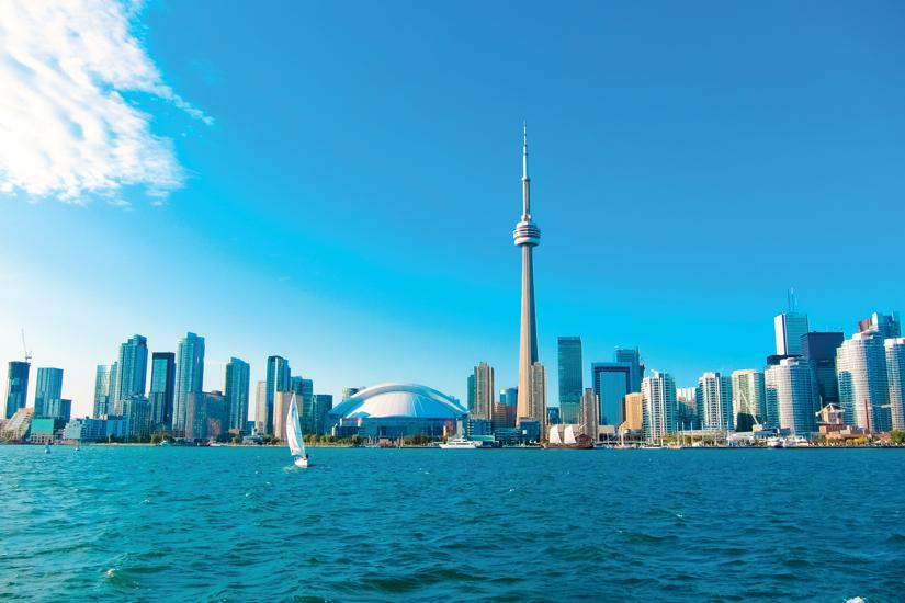 image Canada ontario toronto toits ville traversier rendent centre ile 19 fo_82846947
