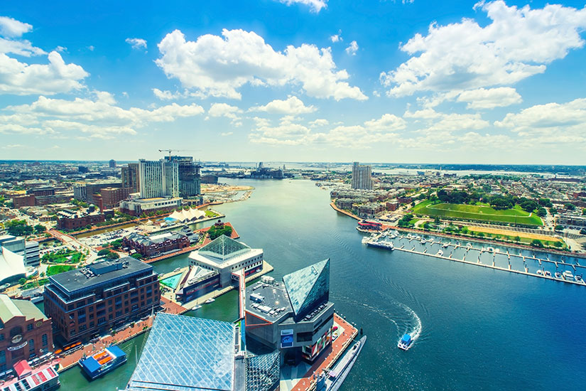 image Etats Unis Baltimore Port Inner Harbor  it