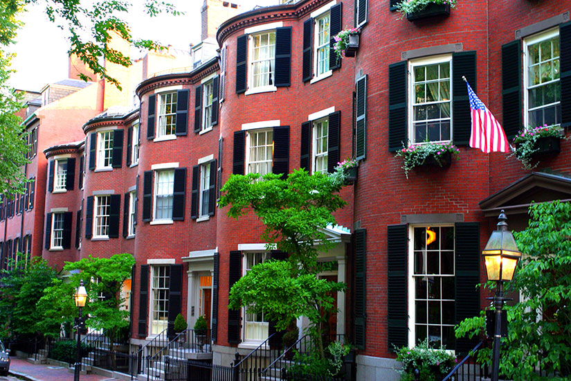 image Etats Unis Boston Beacon Hill  it