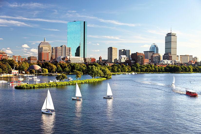 image Etats Unis Boston panorama  it