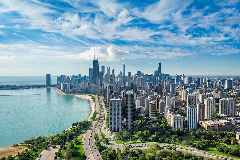 image Etats Unis Chicago Horizon urbain  it