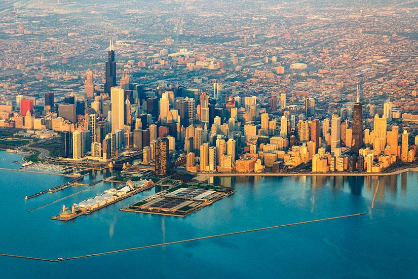 image Etats Unis Chicago panorama  fo