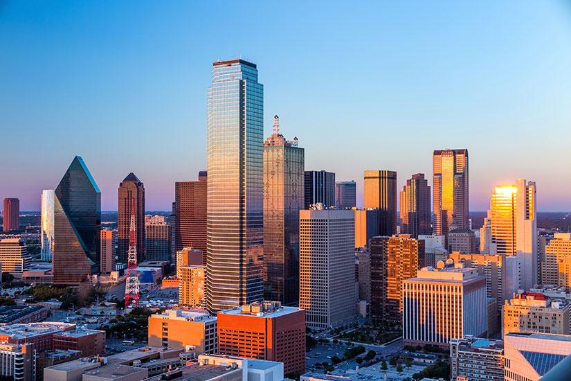 image Etats Unis Dallas horizont urbain  it