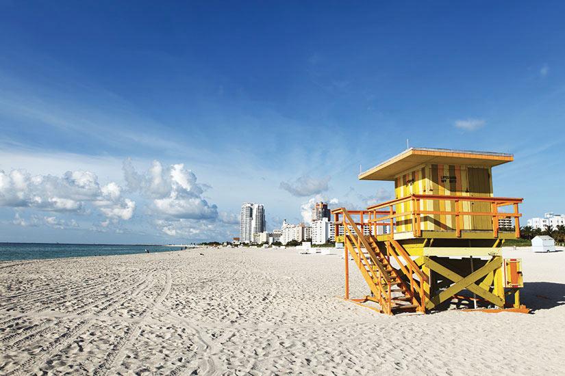 image Etats Unis Floride Miami Poste de surveillant de baignade  it