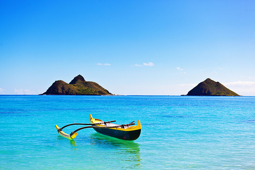 image Etats Unis Hawaii Lanikai Pirogue  it
