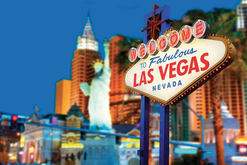 image Etats Unis Las Vegas Nevada Panneau de bienvenue  fo