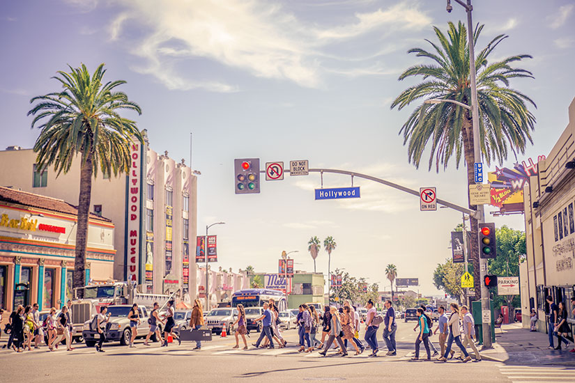 image Etats Unis Los Angeles Hollywood Boulevard  it