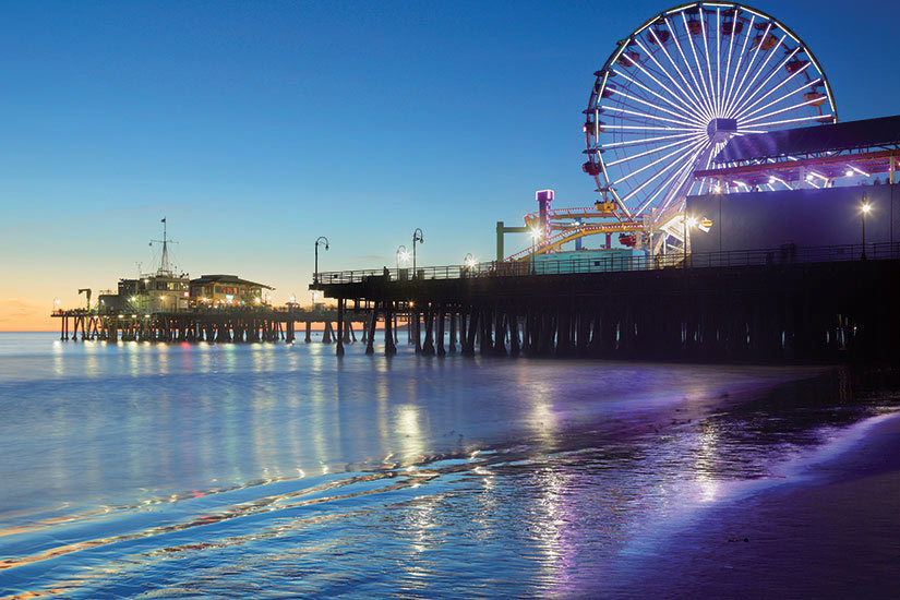 image Etats Unis Los angeles Santa Monica jetee  it