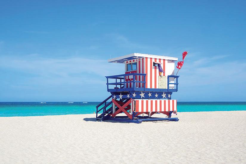 image Etats Unis Miami plage  fo