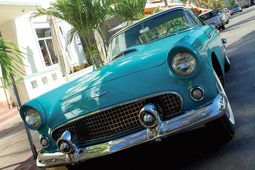 image Etats Unis Miami vintage voiture  fo