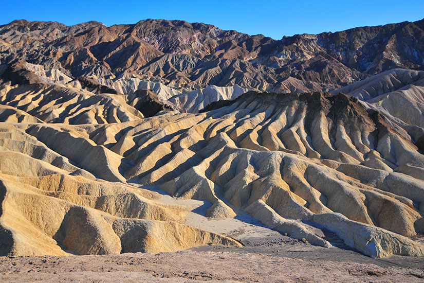 image Etats Unis Nevada Death Valley Zabriskie Point  fo