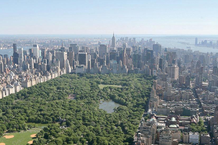 image Etats Unis New York Central park vue aerienne  it