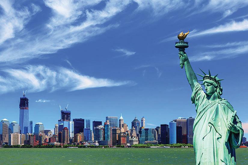 image Etats Unis New York Panorama Statue Liberte  fo