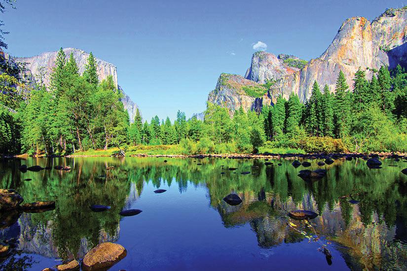 image Etats Unis Parc Yosemite Panorama  fo