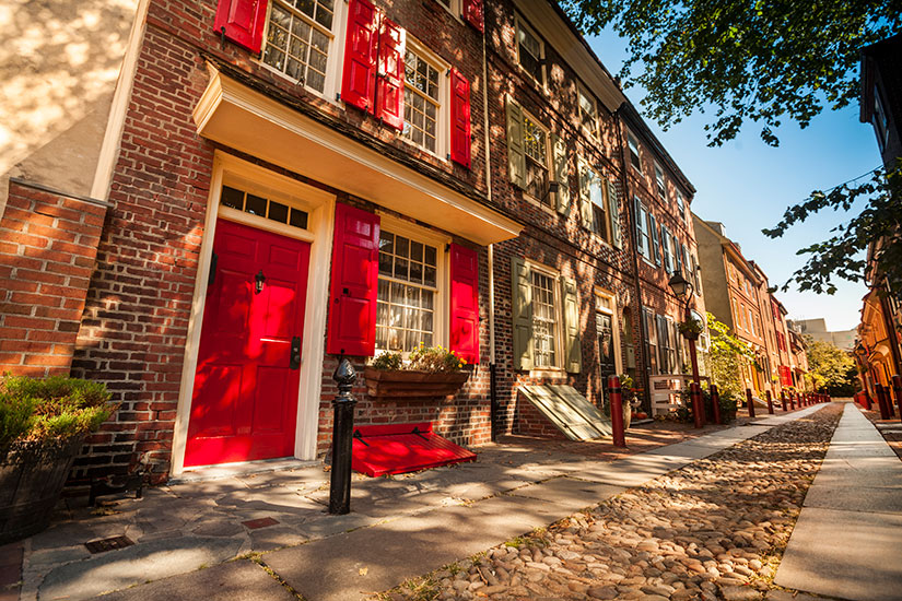 image Etats Unis Philadelphie quartier historique  it