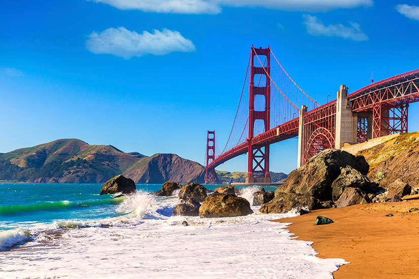 image Etats Unis San Francisco Golden Gate  it
