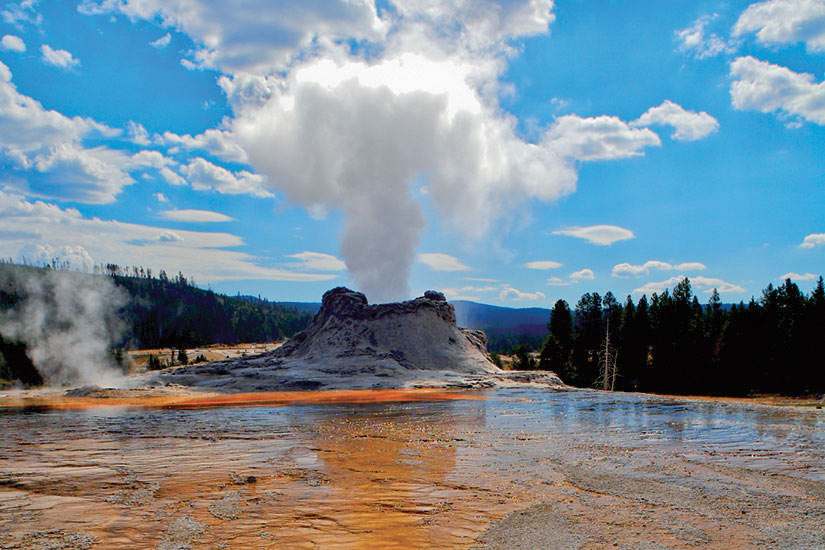 image Etats Unis Wyoming Yellowstone  it