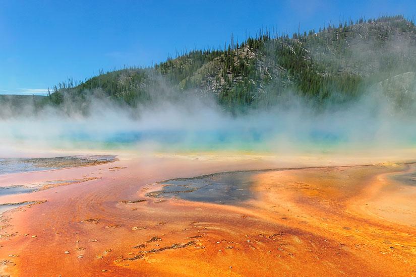 image Etats Unis Yellowstone Geyser Old Faithful  it