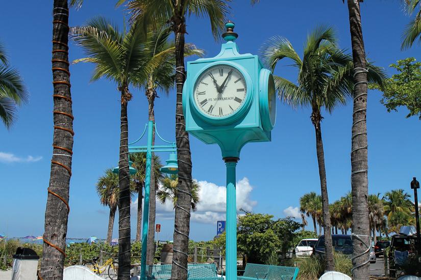 image Etats Unis fort myers beach horloge 86 as_79927117