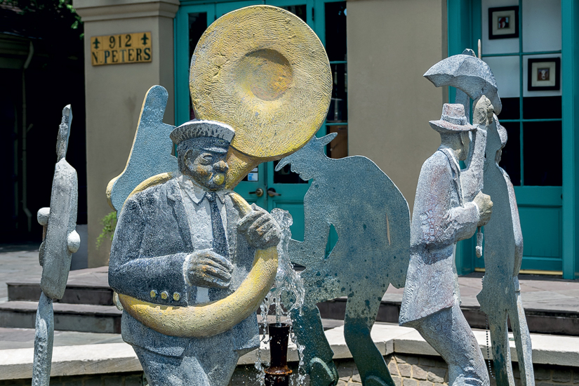 image Etats Unis new orleans fountain jazz 98 as_98978967