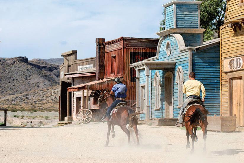 image Etats Unis vile americain traditionnel Cowboy  it