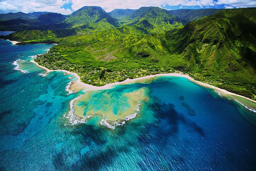 image Etats unis hawai ile de kauai