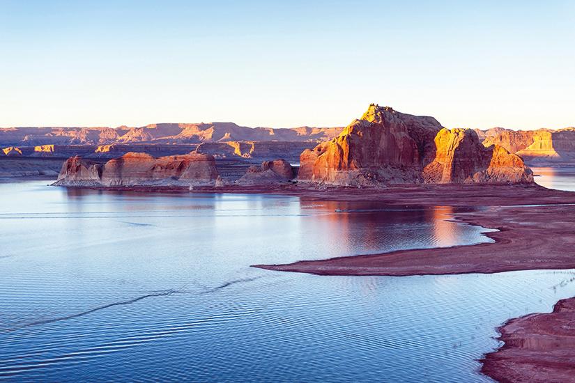 image USA Arizona top view of lake Powell 66 as_98194287