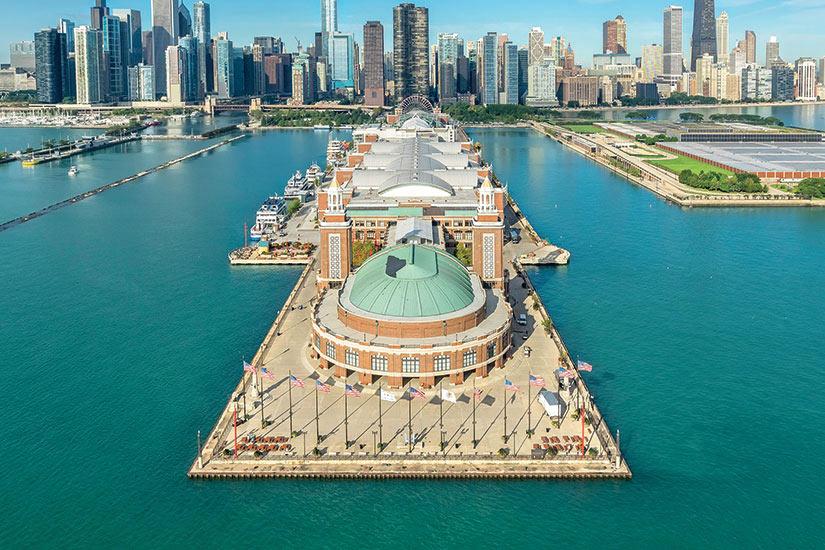 image USA Chicago vue aerienne  it
