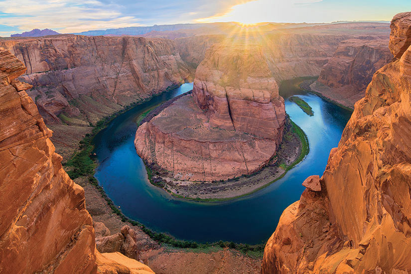 image USA Grand Canyon Incroyable Vista de Horseshoe Bend  it