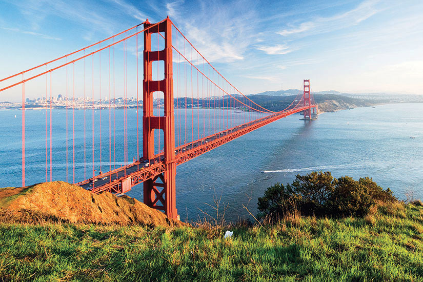 image USA San Fransisco vue aerienne  it