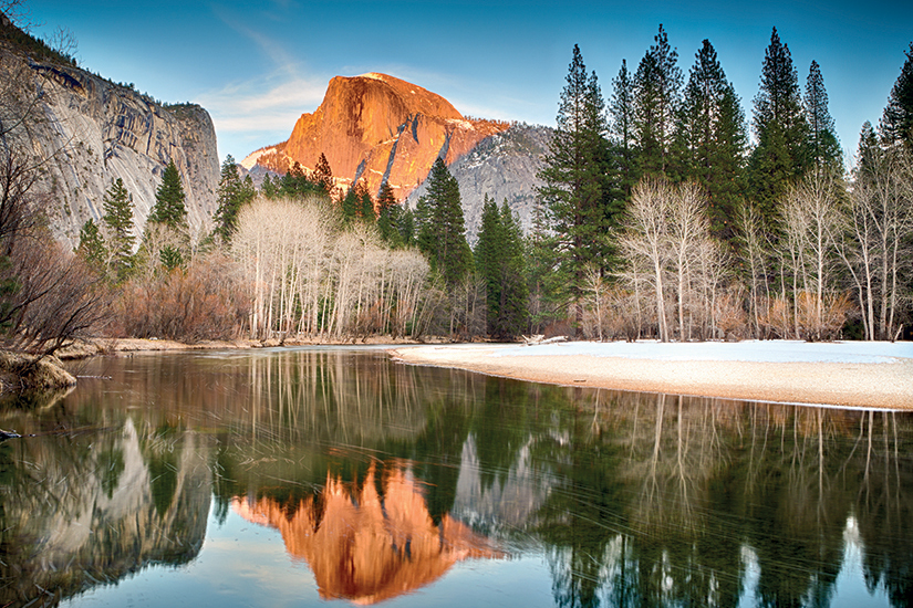 image USA View of half dome reflected in the Merced river at Yosemite 09 as_50014853