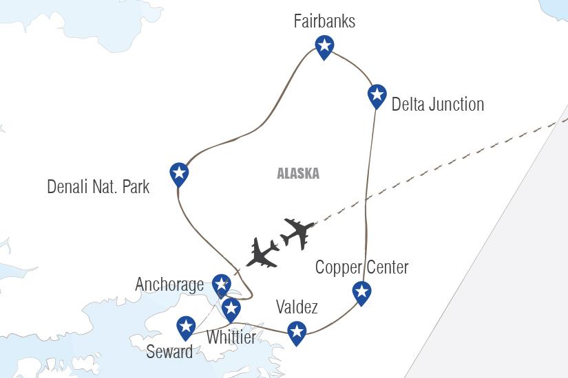 carte USA Alaska ultimes frontieres Hugh 20_333 549601