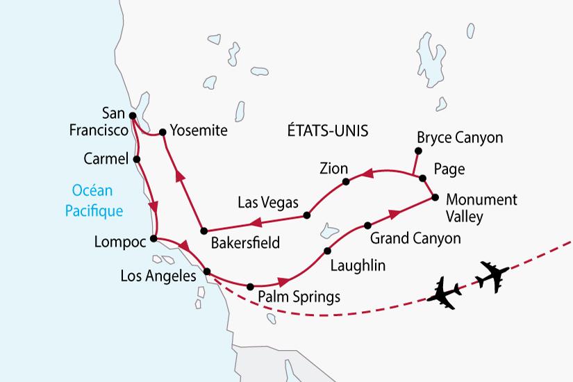 carte usa californie ouest americain sh 2018_236 773364