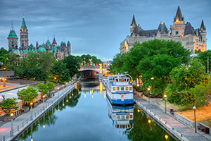 circuit canada ottawa parlement canal  it