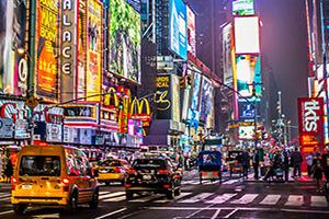etats unis new york times square  it