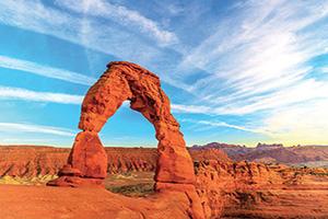 etats unis utah arches parc national  fo
