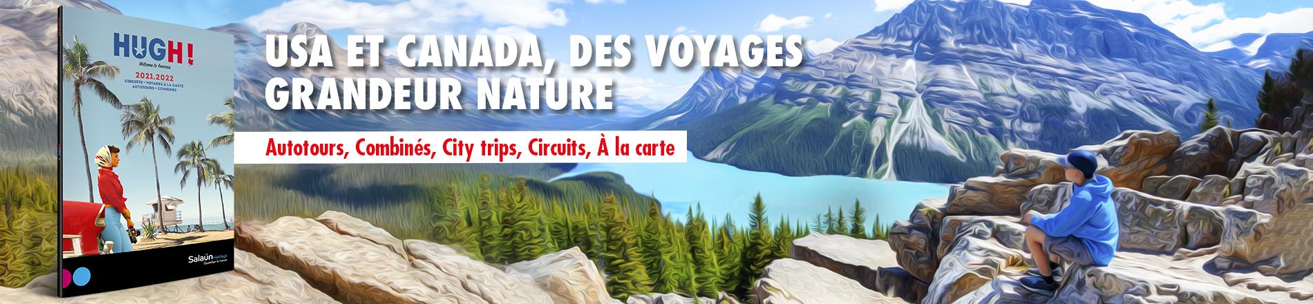 USA et Canada des voyages XXL